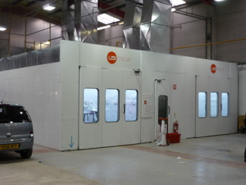 Used Paint Booth For Sale Uk