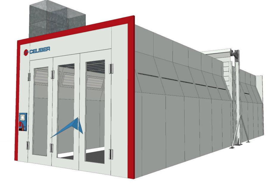 Automotive spray booth for sale uk